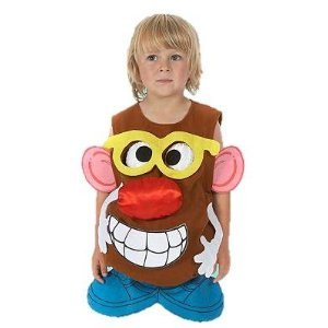Mr Potato Head Costume Age 1 2 Years Amazoncouk Toys Games