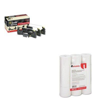 - KITSMC67116UNV35715 - Value Kit - Smith Corona 67116 Lift-Off Tape (SMC67116) and Universal Adding Machine/Calculator Roll (UNV35715)