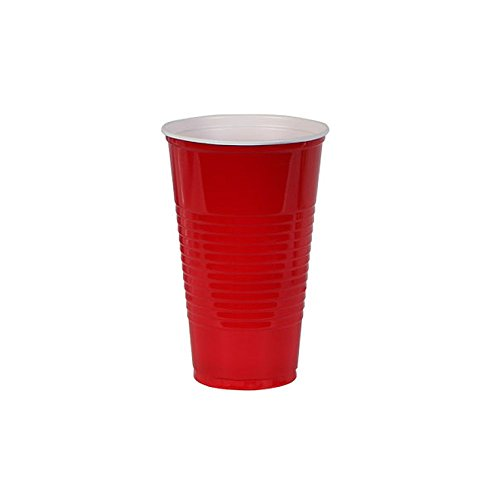 Red Solo Cup 16 Count 16oz Plastic Red Solo Cup Syle Glasses