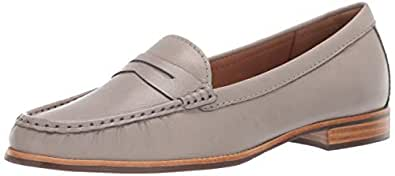 Driver Club USA Womens Leather Made in Brazil Greenwich Loafer, ash Nappa, 5 M US