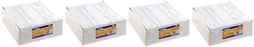 Adams Bill of Lading Short Form, 8-1/2 x 7-7/16 Inches, White, 3-Part, 250-Count (B3876) (Fоur - Lading Short Form