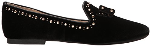 Velvet Black Women's Haan Loafer Cole Stud Bow Tali qFY05FvnS