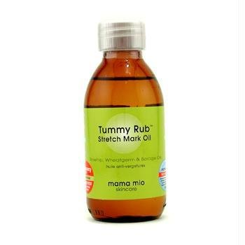 Mama Mio Tummy Rub extensible Mark Oil, 4.1 fl oz, prévenir les vergetures pendant la grossesse, coffre-fort