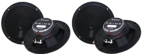 (Rockford Fosgate R1653 6.5-Inch Prime Series 3 Way Full-range Car Speakers)