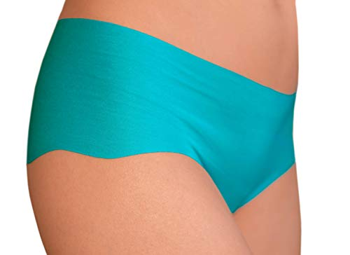 AGROCLASSIC Cotton Womens Fitness Invisible Thongs Breathable Panties - 3 Colors (M, ()