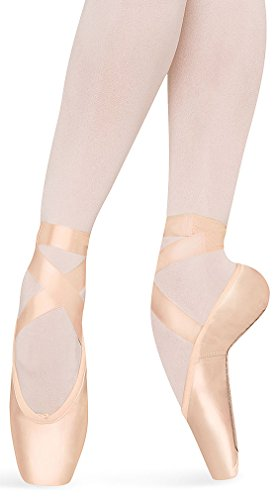Bloch Women's Axiom Strong Ballet Pointe Fashion Dance Shoes, Pink Satin, Leather, 6.5 (2X) by Bloch