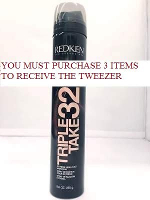 Triple Take 32 255 grams / 9 oz BRAND NEW & FRESH STOCK-PACK OF 7+FREE PROFESSIONAL - Ounce Triple Pack 9