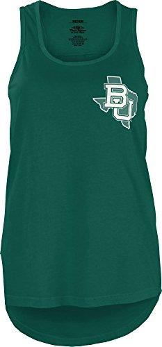 NCAA Baylor Bears Junior's Comfort Colors Tank Top, Medium, (Baylor University Colors)