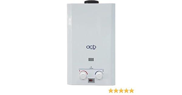 Calentador a Gas NATURAL ACB de 10 litros: Amazon.es: Bricolaje y herramientas