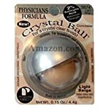 Physicians Formula Crystal Ball Concealer Makeup with 2% Salicylic Acid - Color: #3874 Light Beige