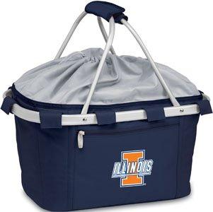 NCAA Illinois Illini Digital Print Metro Basket, One Size, Navy