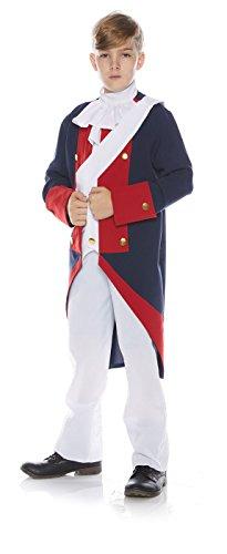 Underwraps Little Boy's Little Boy's Revolutionary Soldier Costume Set Childrens Costume, Multi, Small]()