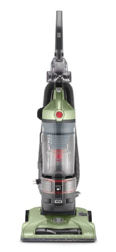 (Hoover T-Series WindTunnel Rewind Plus Bagless Corded Upright Vacuum UH70120, Green)