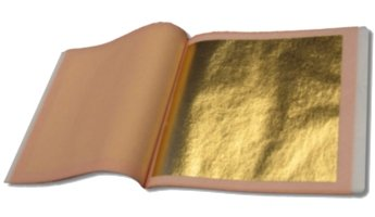 24K Double Gold Leaf  Transfer Patent Type  25 Sheets