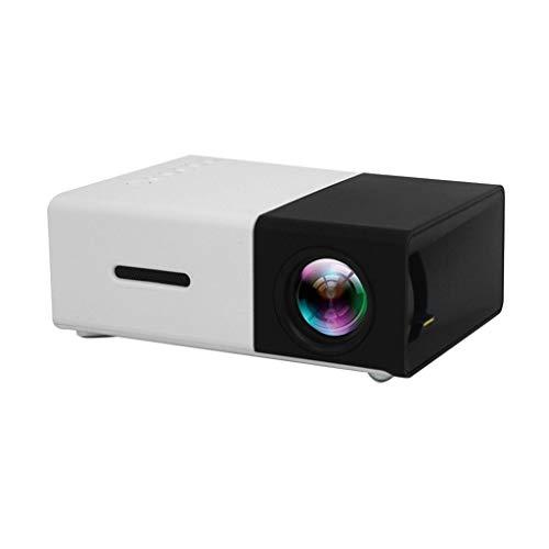 kashyk Mini Beamer 2019 Upgraded Projektor Full HD 1080P tragbarer Heimkinoprojektor, kompatibel mit MP4,RMVB,AVI,RM,MKV…