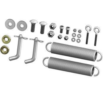 (KFI Products UTV Plow Hardware Kit for KFI UTV Push Tubes105635 105151)