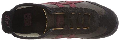 Negro unisex Port Royal 251 Dark Asics Zapatos Sepia aEq1T8