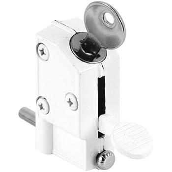 Defender Security U 9884 Sliding Door Lock Keyed Step On