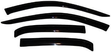 Fits 03-07 Accord Auto Ventshade 194943 Ventvisor In-Channel Deflector 4 pc