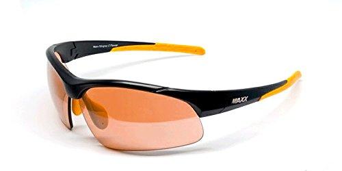 Maxx Sunglasses Stingray Black Frame HD Copper ()