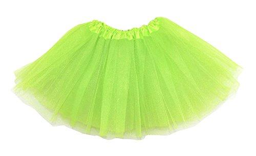 Leegoal(TM) Tutu pour femme Vert - Vert fluorescent