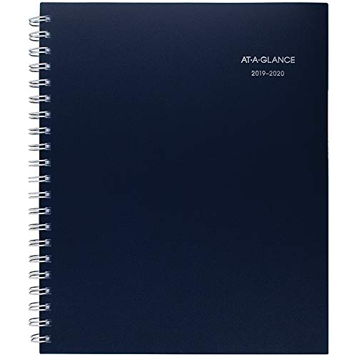 AT-A-GLANCE 2019-2020 Academic Year Weekly & Monthly Planner, Large, 8-1/2