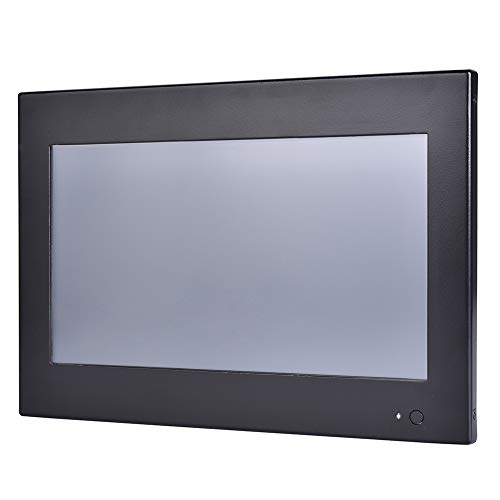 10.1 Inch Industrial Touch Panel PC,All in One Computers,4 Wires Resistive Touch Screen,Windows 7/10,Linux,Intel J1800,(Black),[HUNSN WD12],[3RS232/VGA/LAN/3USB2.0/1USB3.0/Fanless],(8G RAM/64G SSD)