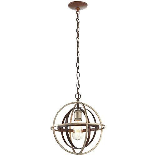 Champagne Bronze Mini Pendant - Home Decorators Collection 27030 1-Light Bronze & Champagne Pewter Mini Pendant