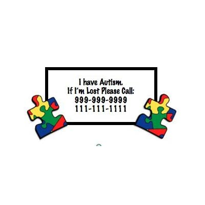 Autism Awareness Temporary Tattoo