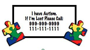 Autism Awareness Temporary Tattoo -