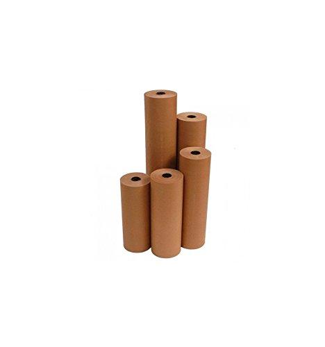 imballaggi2000 Rotolo Carta Avana 85 cm X 200 Mt Lineari Imballaggio Mascheratura Protezione