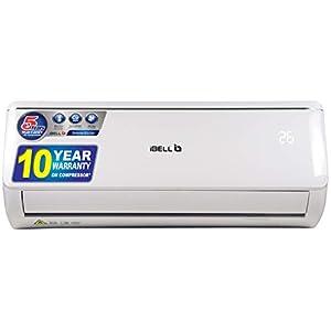 iBELL 2 Ton 3 Star Inverter Split Air Conditioner,100% CU+ Copper, R32 Gas (White)