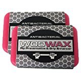 WodWax Wod Wax Antibacterial Hand Grip Enhancer & Palm Rip Preventative for Pull Ups, WODs, Gymnastics, Weightlifting Helps Prevent Rips and Slippage without bulky gloves and grips. (2-Pack) by WodWax (Image #5)