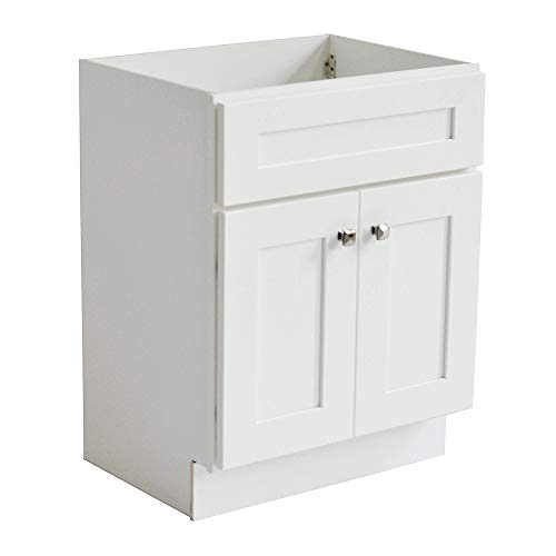 Design House 559021 Brookings Unassembled 2-Door Shaker Vanity 30x31.5x21, White ()
