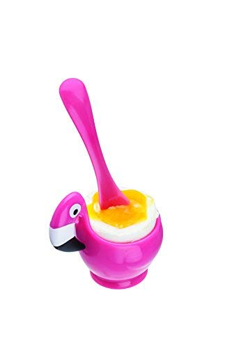 Joie FLAMINGO EGG CUP & SPOON