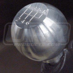 (UPR 1979-2004 Mustang Large Billet Gear Shift Knob 6 Speed Engraving)