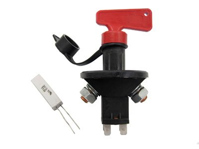 Rennline Fits all All Battery Disconnect Switch -6 Pole Red