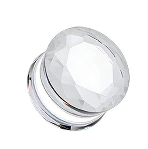 glass plugs 19mm - 3