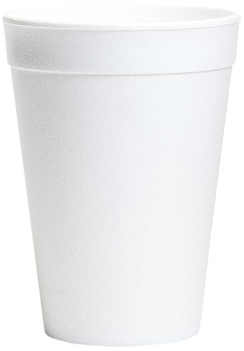 Wincup C3234 Foam Cups, 32 oz, Cube 8.72, White (25 Sleeves of 20 Cups) ()