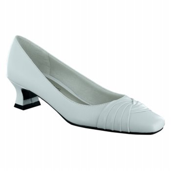Easy Street Tidal Dress Heels White 12 M