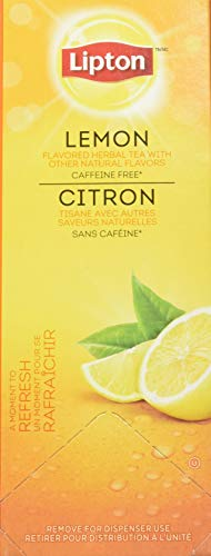 Lipton Lemon Herbal Tea (Box of 28)