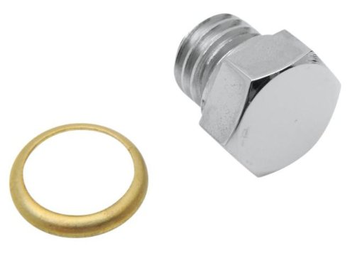 Price comparison product image Colony Custom Oil Tank Drain Plug - Domed Hex Oversize - 9 / 16in.-18 7503-1