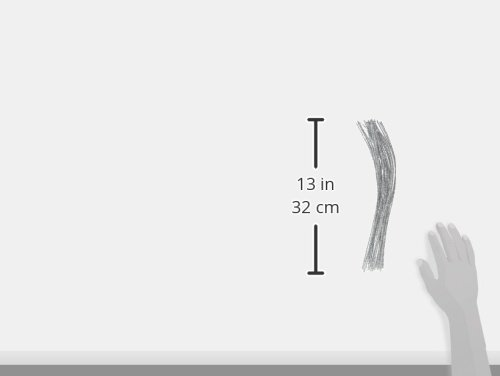 Tinsel Chenille Stems 25 Piece Darice Silver