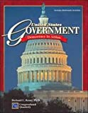 United States Government: Democracy in Action, Richard C. Remy, 0028221486