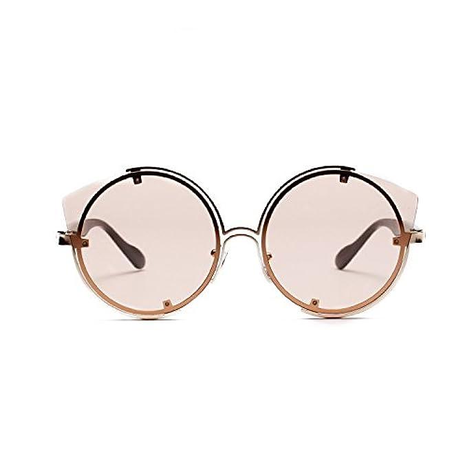 e204d9cb3b58c Irregolarità Donna Di Specchio Guida Occhio Sole Gatto Protezione Moderni  Haoduoliao Occhiali Metal Polarizzate Da Vintage