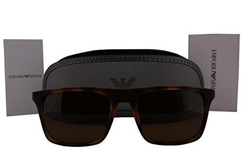 Emporio Armani EA4097 Sunglasses Matte Havana w/Brown Lens 508973 EA - Ea2001 Armani Emporio