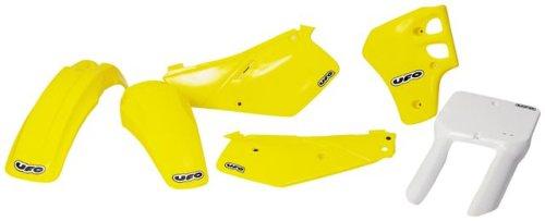 UFO SU03960101 Replacement Plastic (for Suzuki F FNDR RM80 86-98 Yellow)