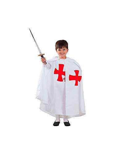 DISBACANAL Disfraz templario Medieval Infantil - Único, 4 ...