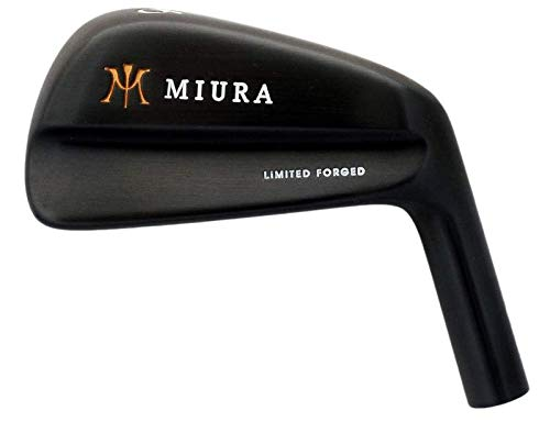 (Mint Miura Limited Forged Black Blade Single Iron 6 Iron FST KBS Tour 90 Steel Regular Right Handed 37.25 in)