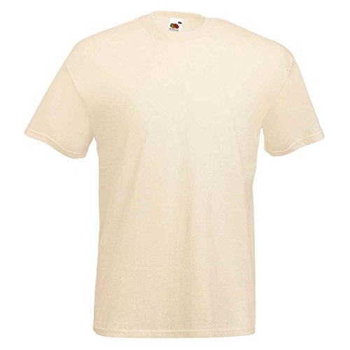 Fruit of the Loom Valueweight camiseta Natural